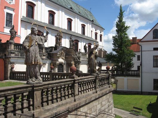 Stift Broumov, Tschechien