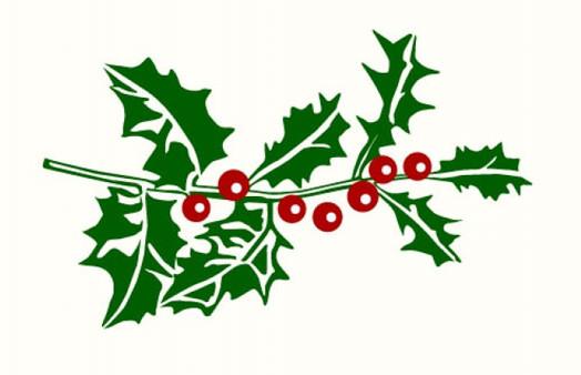 Weihnachtsschmuck Ilex