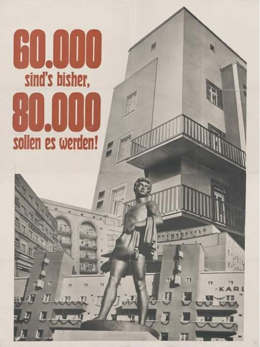 Wahlplakat der SDAP 1932