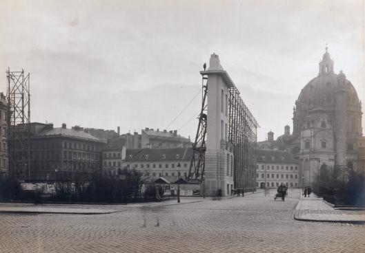 Museumsschablone des Stadtmuseums am Karlsplatz, 1910