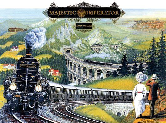 Majestic Imperator Plakat