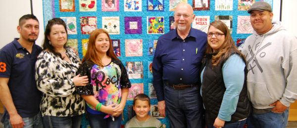 2016 Threads of Life Quilt