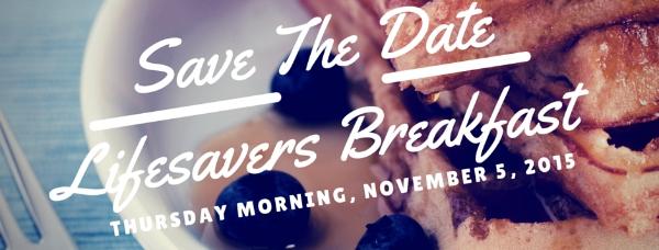 2015 Lifesavers Breakfast