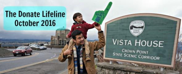 The Donate Lifeline - October