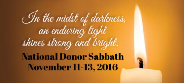 Donor Sabbath Materials