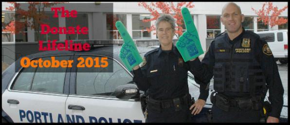 The October Donate Lifeline