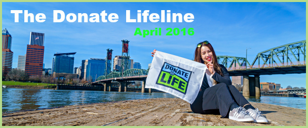 The Donate Lifeline (March Edition)