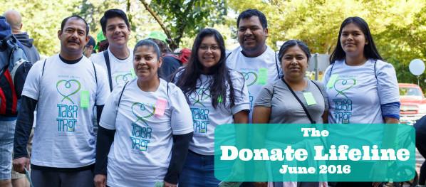 The Donate Lifeline (June 2016)