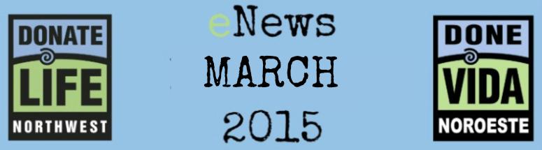 Donate Life Northwest eNews (February)