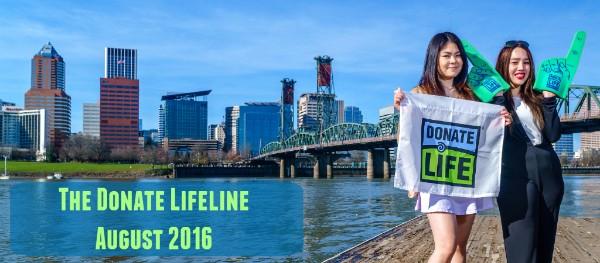 The Donate Lifeline - August