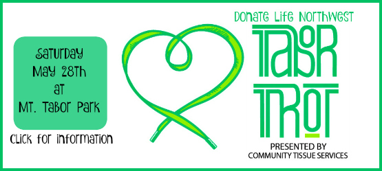 Tabor Trot, May 28th!