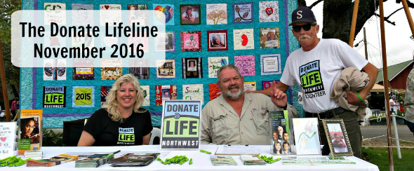 The Donate Lifeline - November