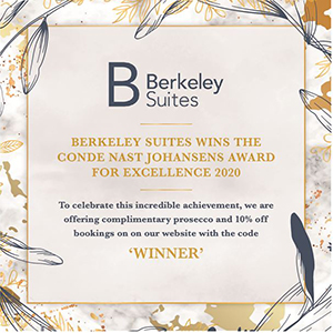 Berkeley Suites Winners of Award for Excellence 2020