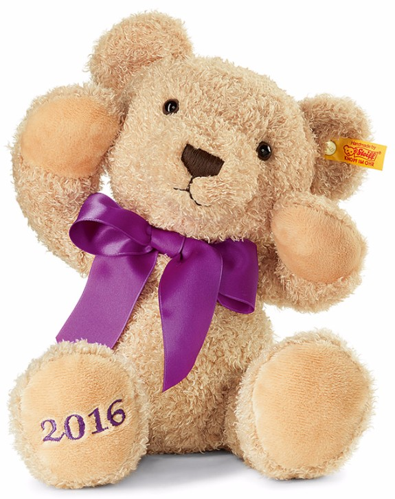 Please click here for full details on Cosy 2016 teddy bear by Steiff