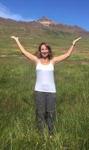 Jonette in Iceland