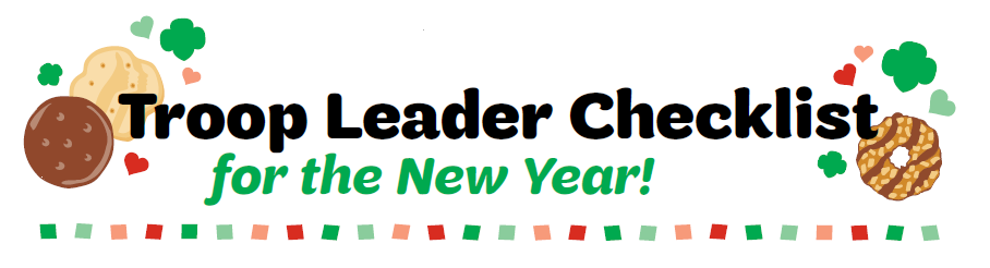 Troop Leader Checklist for the New Year
