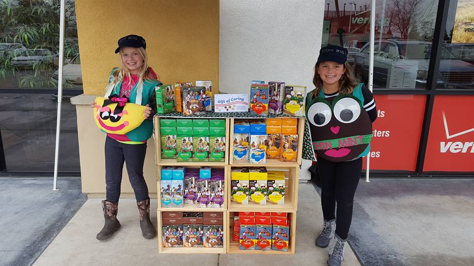GSNorCal Girl Scouts Selling Cookies