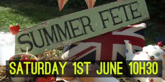 Summer Fete 1st June