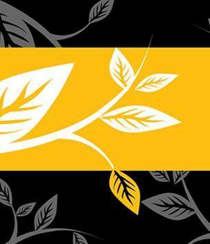 Keystone Campaign leaf motif