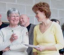 Beverly Brookes and Julie Cassaubon