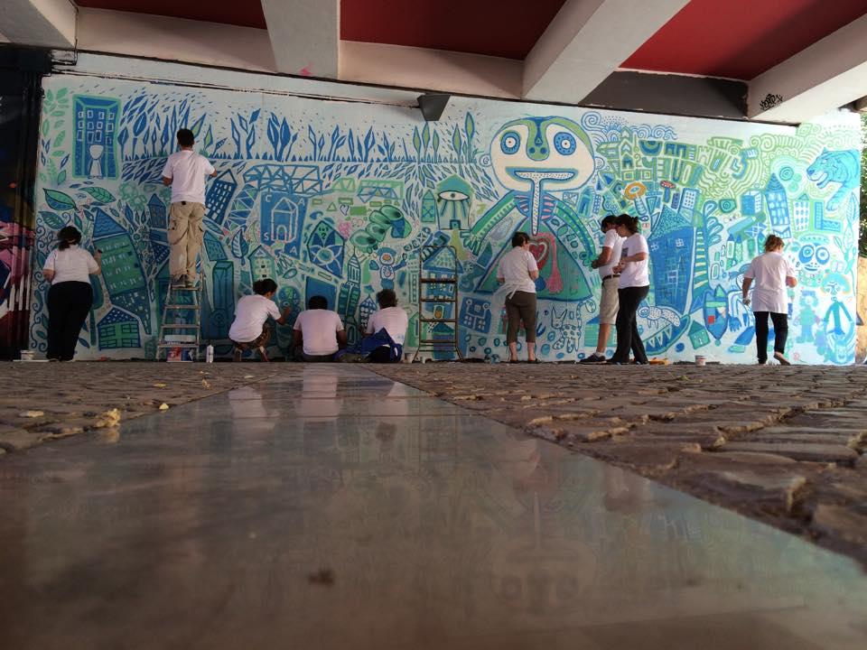 Mural telheiras - AFID
