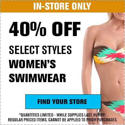 40% Off Women's Swimwear