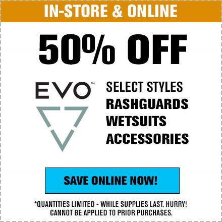 50% Off Evo
