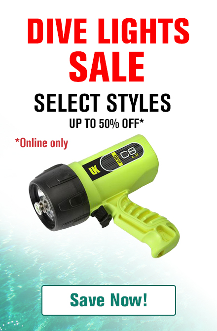 Dive Light Sale