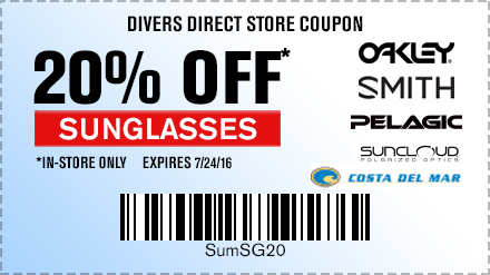 In-store Save 20% Sunglasses