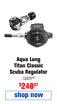 Aqua Lung Titan Classic Scuba Regulator