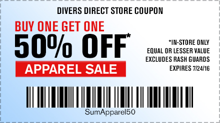 In-store 50% Off Apparel