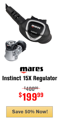 Mares Instinct 15X Scuba Regulator