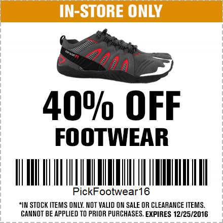 40% Off Footwear Black Friday  Doorbusters