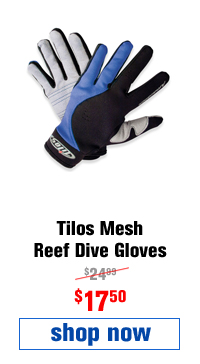 Tilos Mesh Reef Dive Gloves