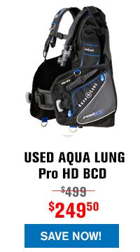 USED Aqua Lung Pro HD BCD