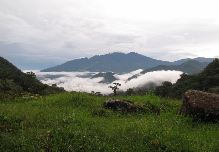 View of the Volcano from Boquete