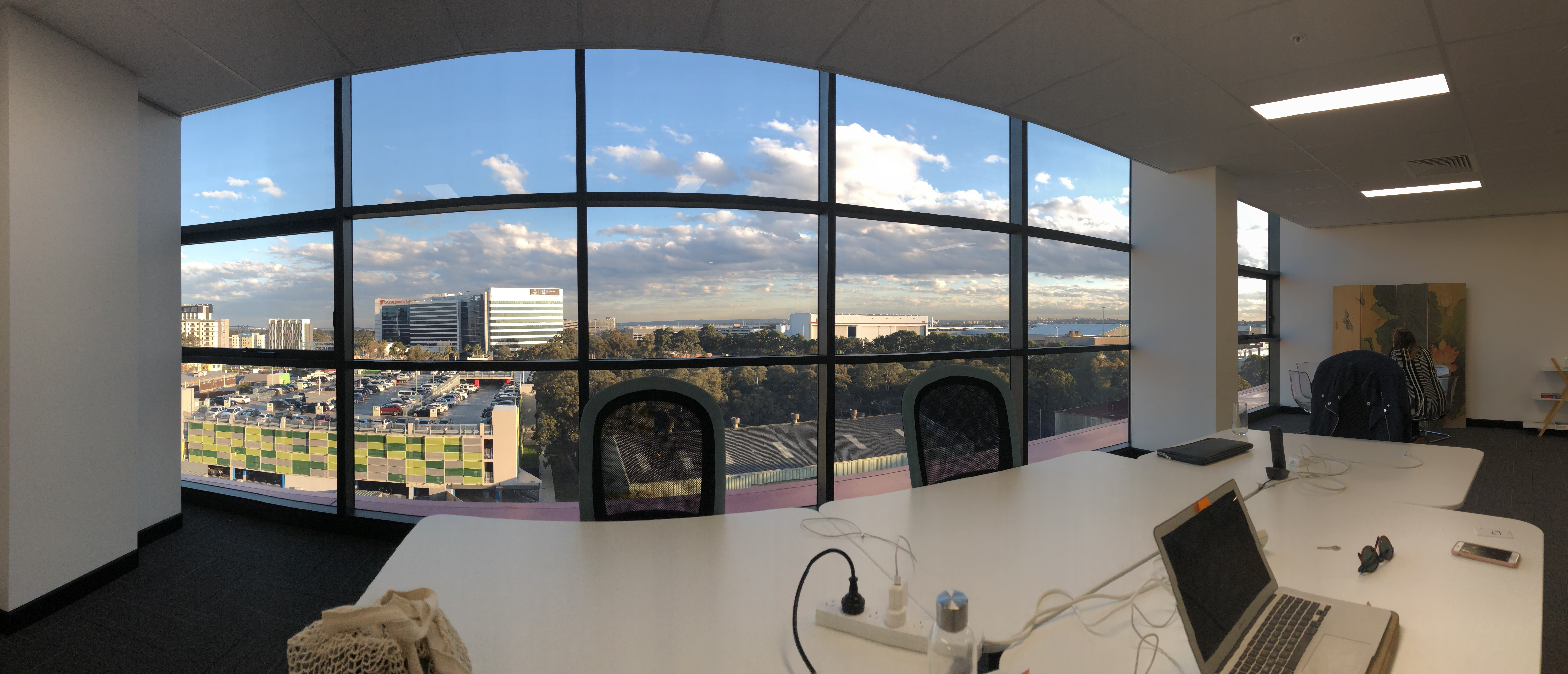 Office and Window View