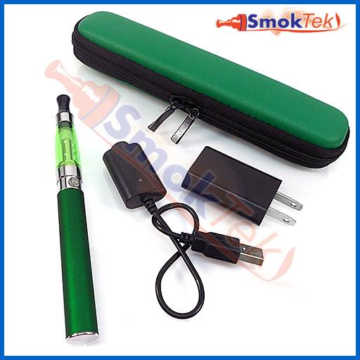 SmokTek Express eGo CE5 1100 E-Cigarette Kit in Zipper case