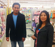 Benny and Myo Aung