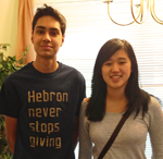 Farhan and Jennifer