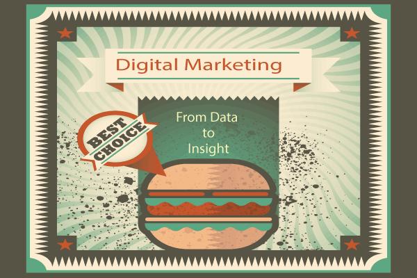咬一口數據漢堡了解數位行銷核心