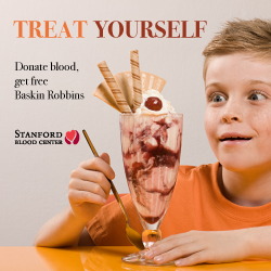 Stanford Blood Center Sweet Treats