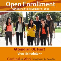 Open Enrollment is Oct. 22 - Nov. 9.