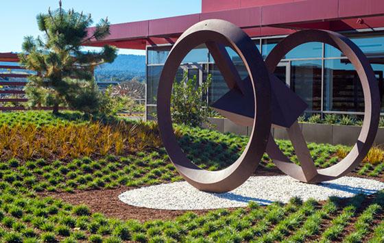 Stanford hospital art