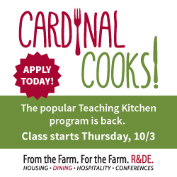 Stanford's hands-on cooking class is back