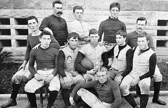 First Stanford football team