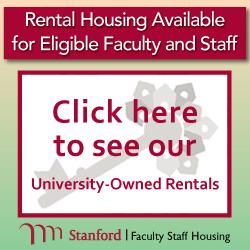 Housing programs for Stanford community