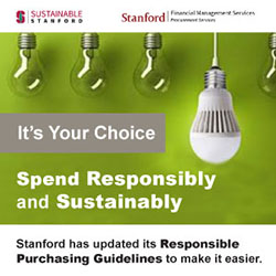 Sustainable Purchases