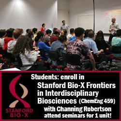 Bio-X course/seminar series enrollment
