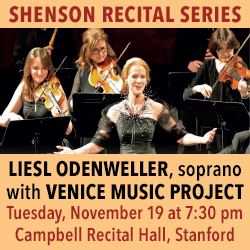 Shenson Recital Series Nov 19